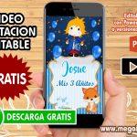 Video Invitacion de El Principito GRATIS