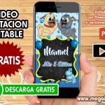 Video Invitacion de Puppy Dog Pals GRATIS