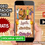 Video Invitacion de Scooby Doo GRATIS