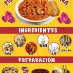 preparacion ingredientes de picante tacna