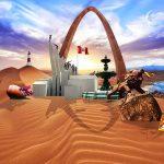 tacna en desierto montaje