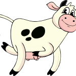 Vaca lola transparente