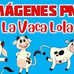 Imágenes de La Vaca Lola en PNG fondo Transparente