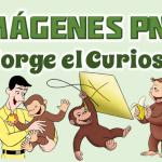 Imágenes de Jorge el Curioso en PNG fondo Transparente