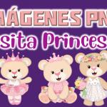 Imágenes de Osita Princesa en PNG fondo Transparente