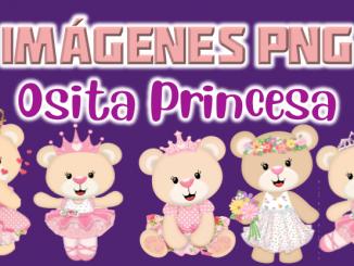 imagenes png Osita Princesa