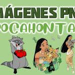 Imágenes de Pocahontas en PNG fondo Transparente