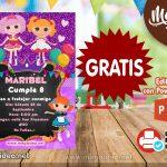 Invitación de Lalaloopsy GRATIS para editar