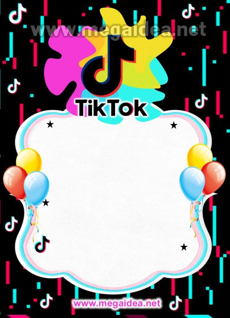 invitacion Tik Tok 1