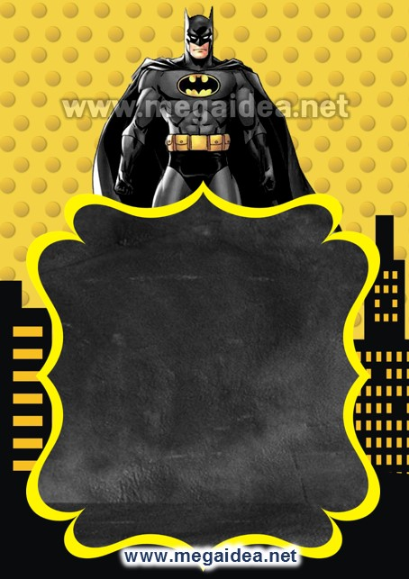 FONDO Invitacion Batman