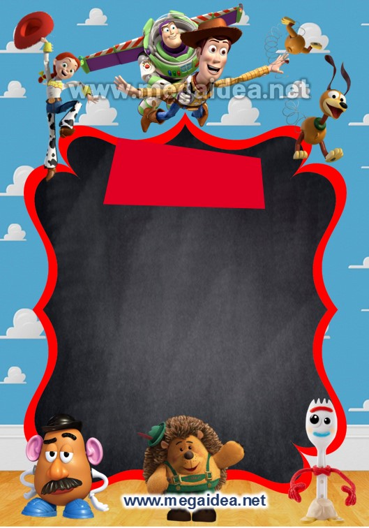 FONDO Invitacion Digital ToyStory 4