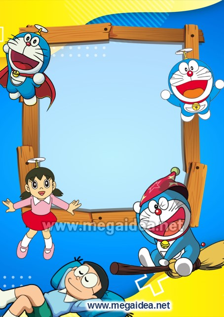 FONDO Invitacion Doraemon