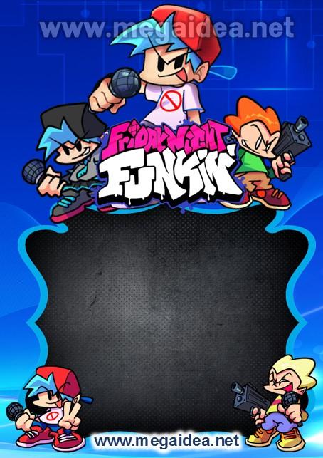 FONDO Invitacion Friday Night Funkin