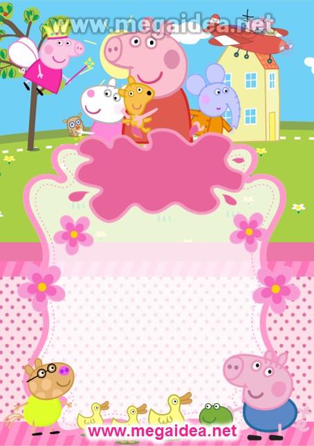 FONDO Invitacion Peppa Pig 2