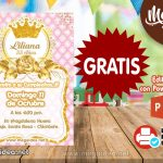 Invitación de Coronita GRATIS para editar