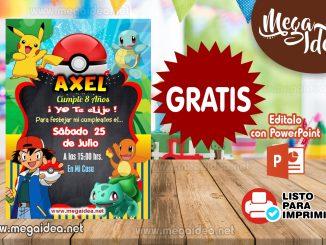 Invitacion Pokemon 02