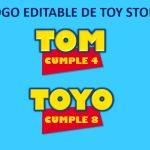 Logo Editable de Toy Story en Powerpoint