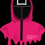 Squid Game Soldier Mask Cuadrado