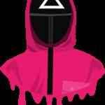 Squid Game Soldier Mask Triangulo
