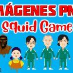 Imágenes de Squid Game en PNG fondo Transparente