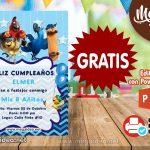 Invitación de Rio La Pelicula GRATIS para editar