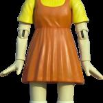 squid game doll transparent 2